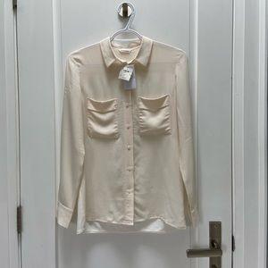 Club Monaco button down dress shirt size xs NWT